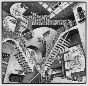 Escher the way